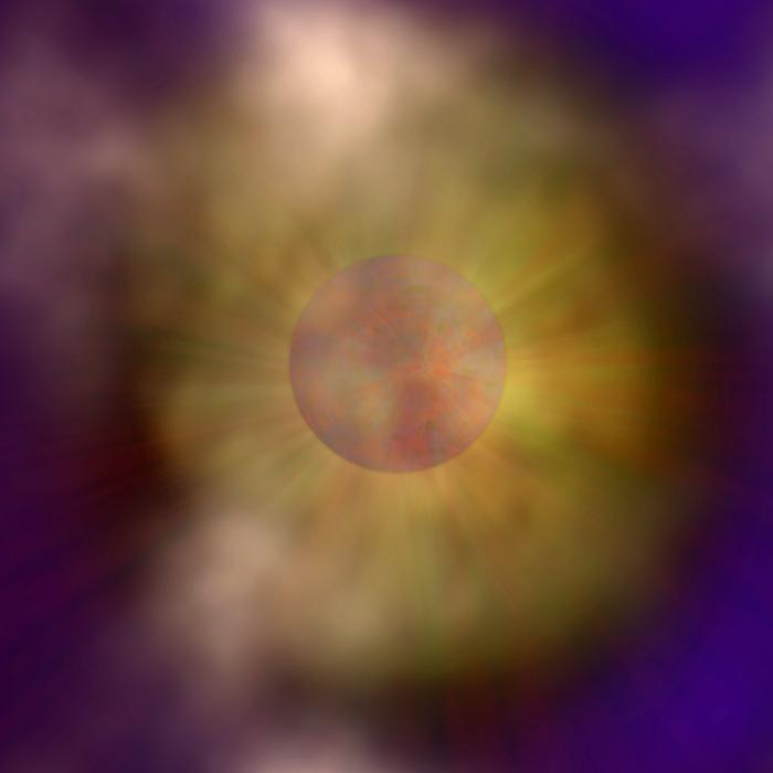 Artist Impression of Missing Neutron Star
