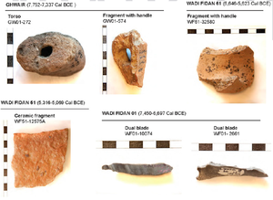 Burnt flints and ceramics used to reconstruct the strength of the ancient geomagnetic field