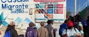 Casa Del Migrante Saltillo migrant shelter, Saltillo, Mexico.