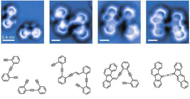 Snapshots of Chemical Reactants, Intermediates and Products