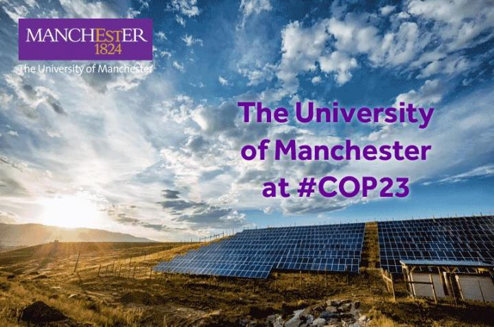 The University of Manchester at COP23