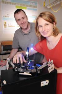 Daniel Goldman and Nicole Mazouchova, Georgia Institute of Technology (2 of 2)