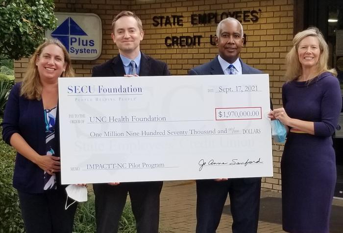 SECU Foundation check presentation
