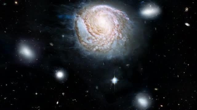 Animation of Ram Pressure Stripping of Galaxies