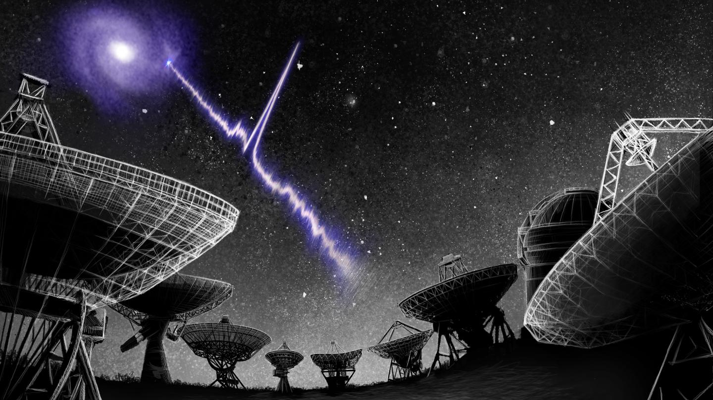 In a nearby galaxy, a fast radio burst unrave   EurekAlert!