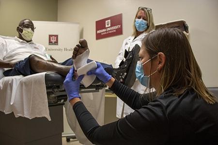 IU School of Medicine Leads Diabetic Foot Ulcer Study
