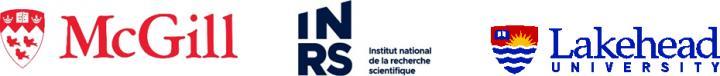 McGill-INRS-Lakehead logos