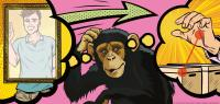 Chimpanzees Are Thinking on What You'll Do Next