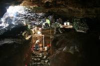 Hall's Cave, TX Excavation