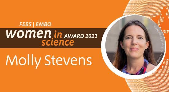 Molly Stevens receives the FEBS | EMBO Women in Science Award 2021