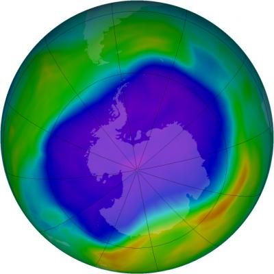 The Largest Ozone Hole over Antarctica in 2006