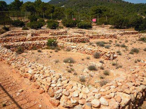 Remains Of The Phoenician Settlement Of Sa Caleta (Ibiza)