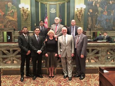 Lehigh Engineer Faculty and Students Honored on Pa Senate Floor