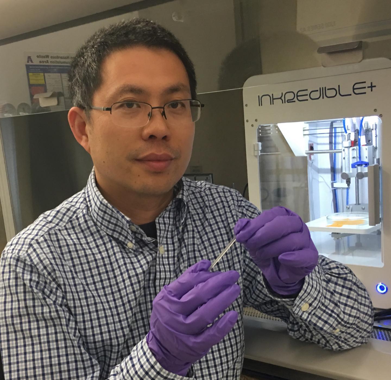 Yi Hong, UTA Professor of Bioengineering and Leader of the Project