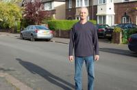 Original Image of Man in Street