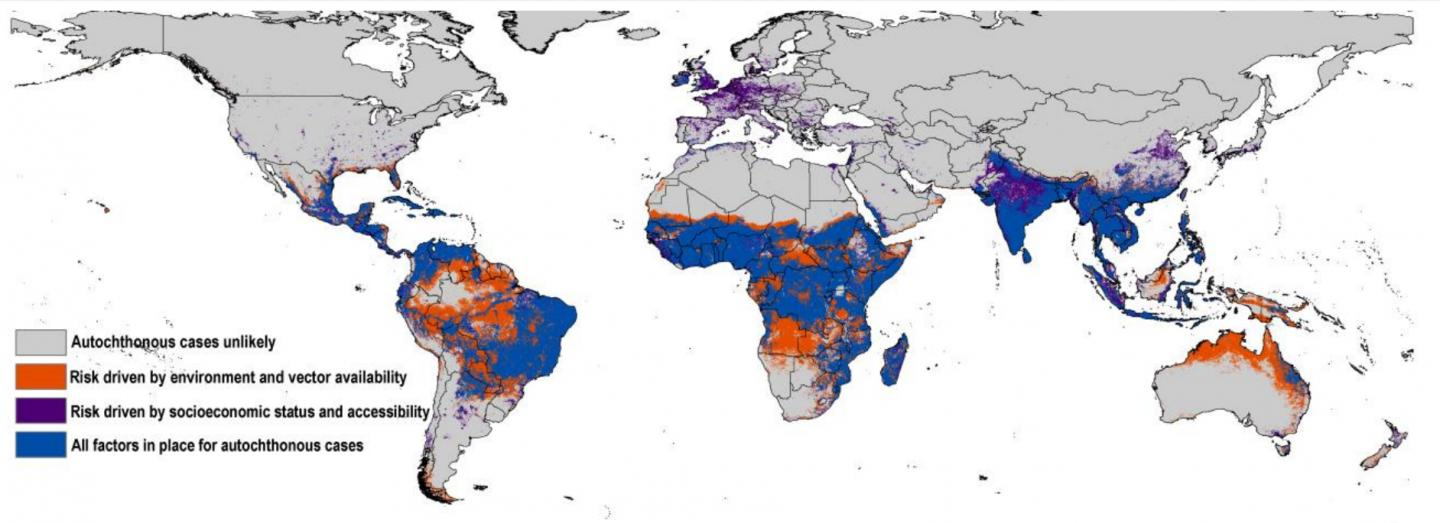 Map Forecasting the Zika Outbreak