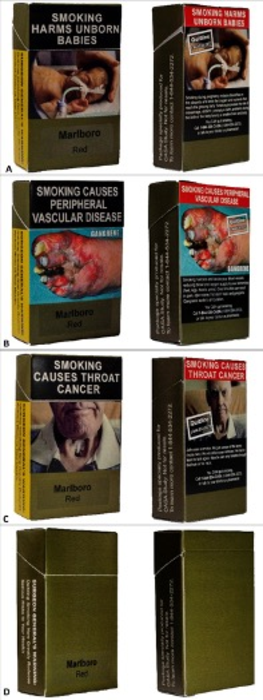 Graphic Warning Label Cigarette Packaging