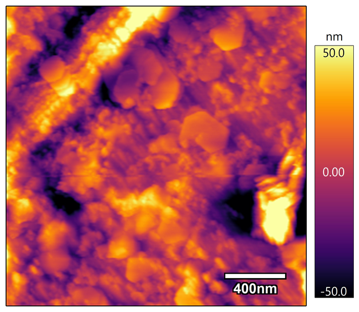 Mineral Shapes Under Microscopy