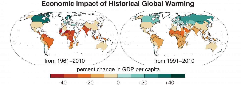 Economic Impact Of Historical Global Warming