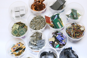 Discarded EEE components in the world's 'urban mines' have enormous value