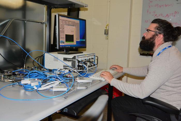 NIST mathematician Jacob Rezac