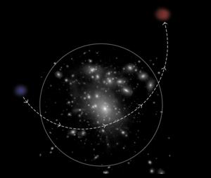 Blue ultradiffuse galaxy