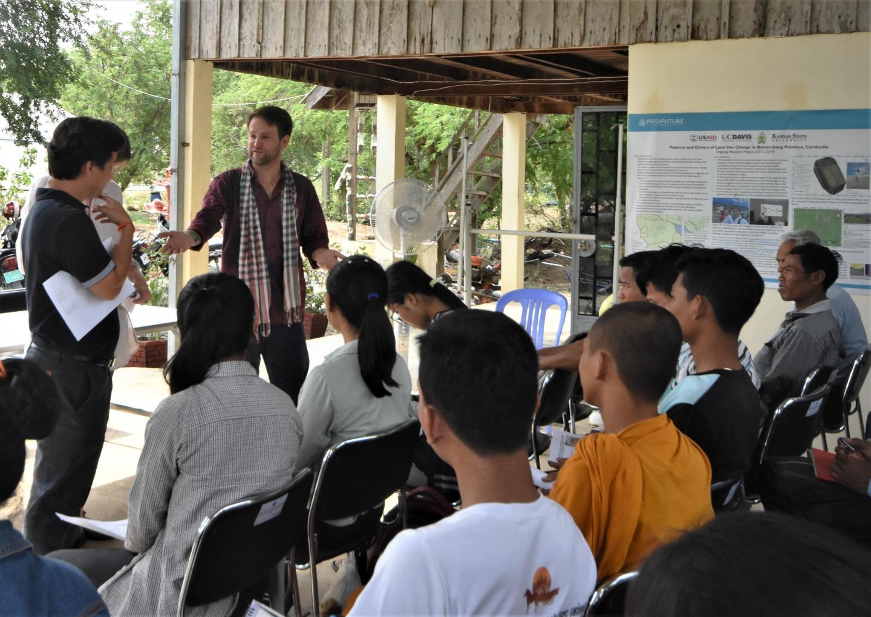 David Ader teaching in Cambodia