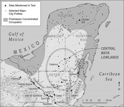 Yucatán Map