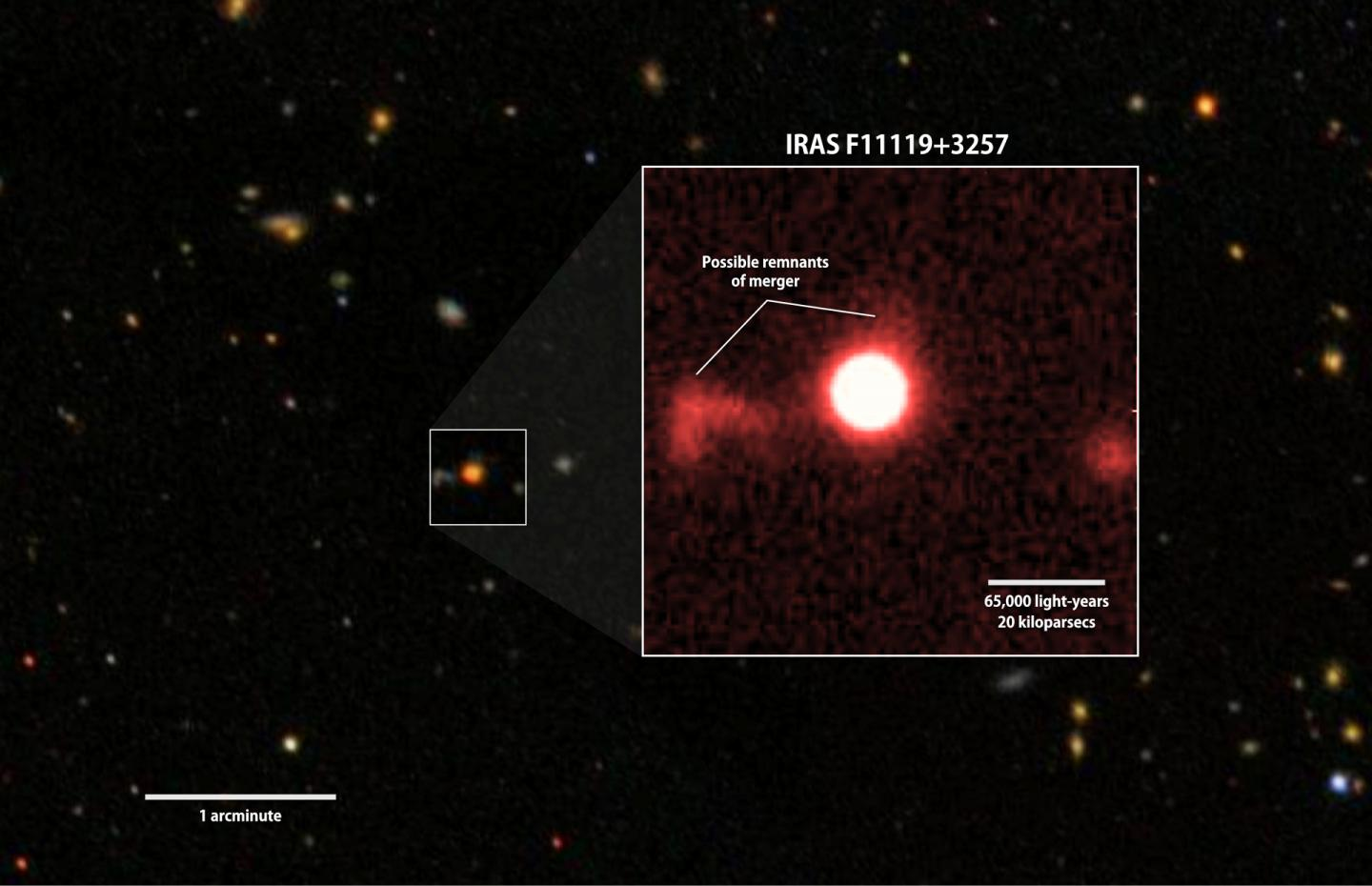 A Red-Filter Image of IRAS F11119+3257