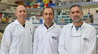 (Left to right)- Prof. Ariel Munitz Dr. Dan Yamin  Prof. Moti Gerlitz