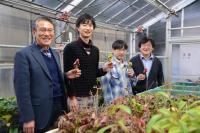Mitsuyasu Hasebe, Kenji Fukushima, Dr. Hironori Fujita, and Masayoshi Kawaguchi, National Institutes