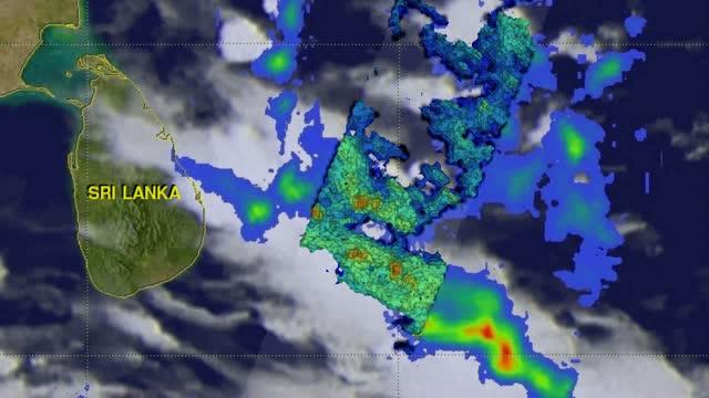 GPM Video Sees Rainfall Over Bay of Bengal