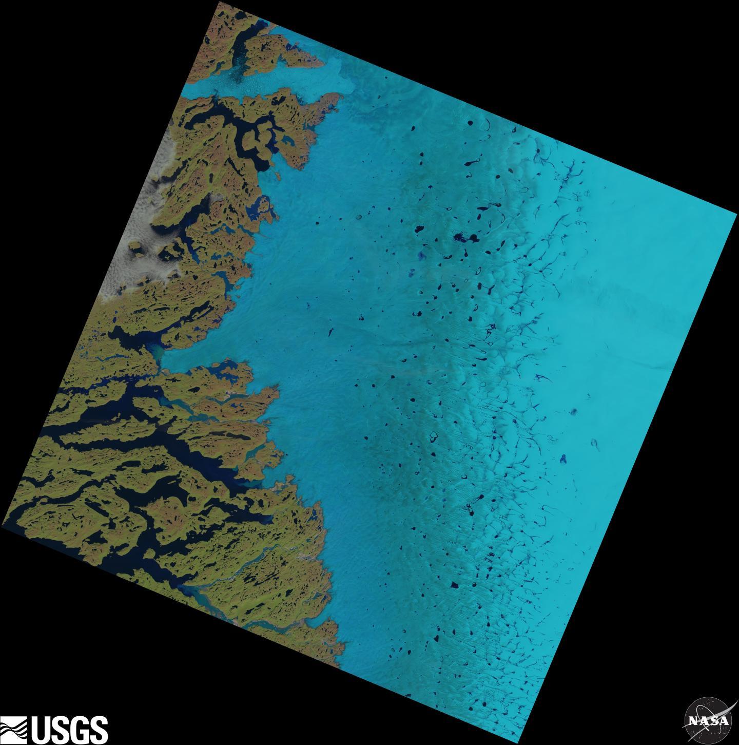 Supraglacial Lakes on the Greenland Ice Sheet