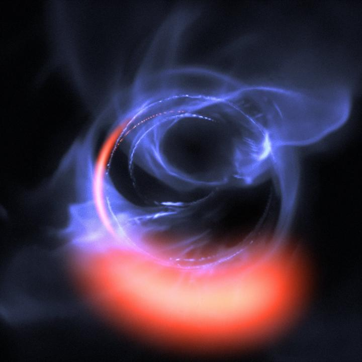 Most Detailed Observations of Material Orbiting Close to a Black Hole