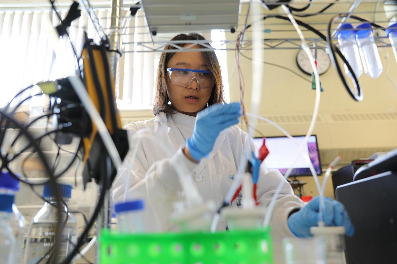 University of Toronto Engineering PhD candidate Geonhui Lee