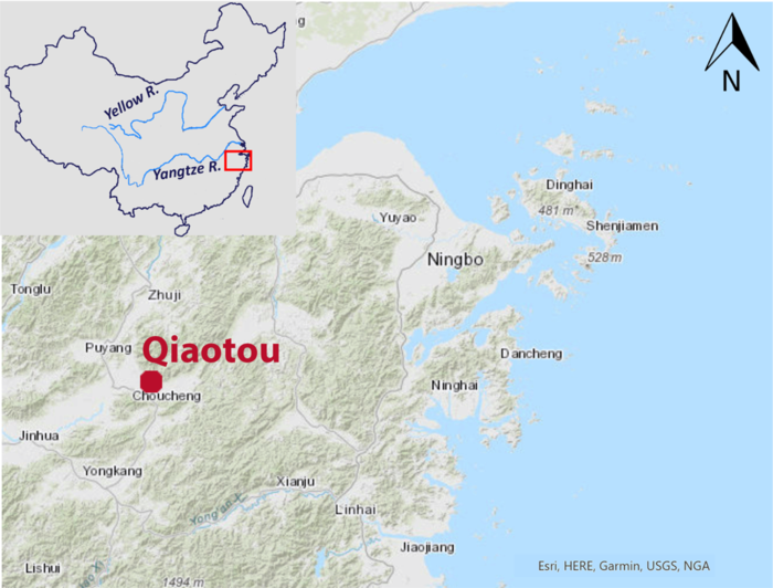 Map of Qiaotou.