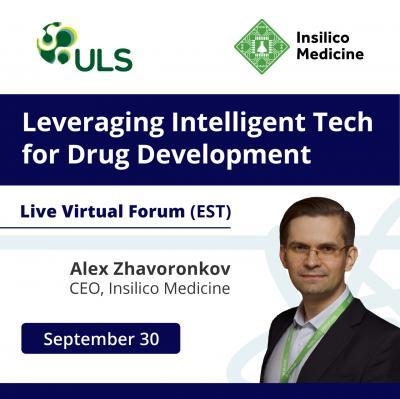 Insilico Medicine to present at Leveraging Intelligent Tech for Drug Development.