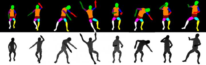 Fig. 3: Example of Generating Training Data for Various Sitting Positions