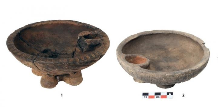 Vessels from Burial Sites