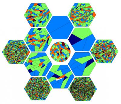 Percentage of Hexagons Can Act as An Indicator for Inferring Properties about How Cells Divide