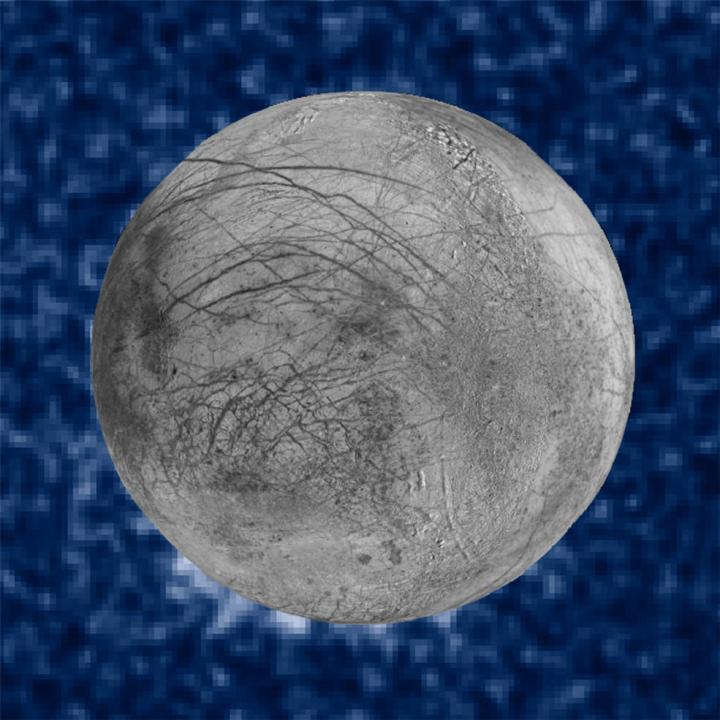 Suspected Plumes of Water Vapor Erupting on Jupiter's Moon Europa