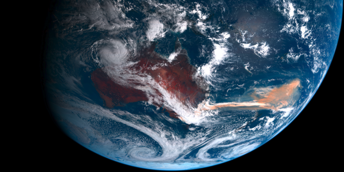 Australian Wildfires From Space