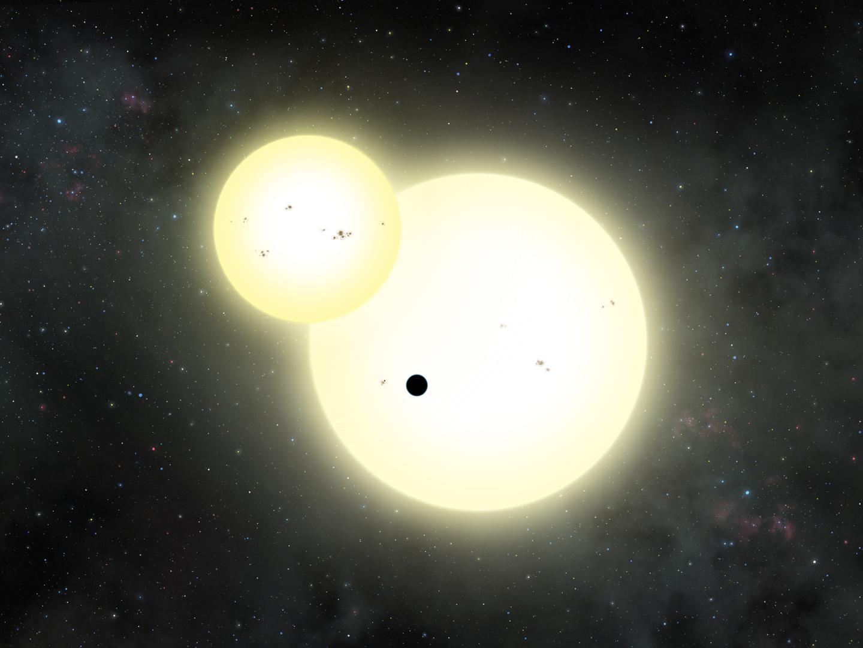 Kepler-1647 b Transiting