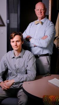 Desmond Schipper and Kenton Whitmire, Rice University