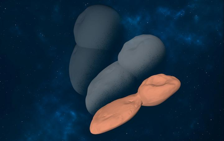 Mass loss driven shape evolution of Arrokoth analogues
