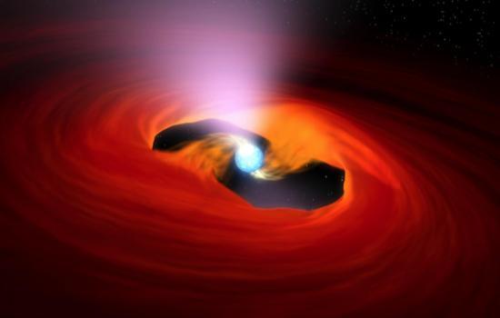 An Accreting Pulsar