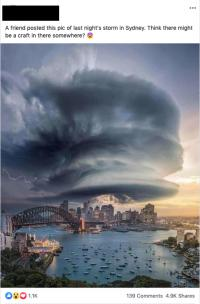 Example Facebook Post (storm)