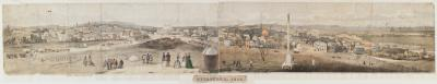 View of Melbourne 1858