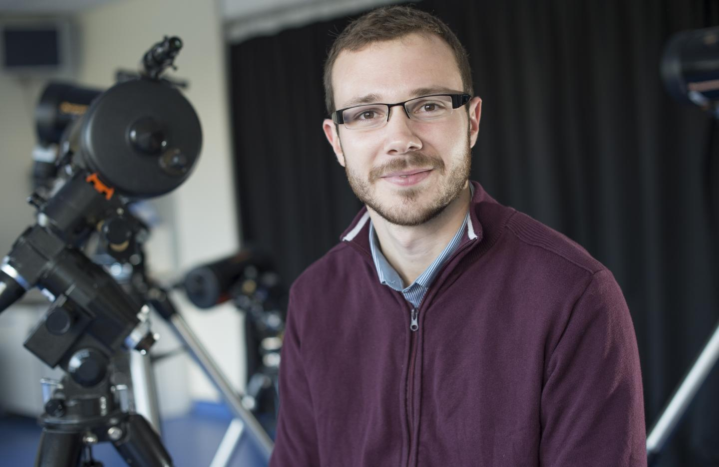 Dr. David Armstrong from the University of Warwick's Astronomy and Astrophysics Group