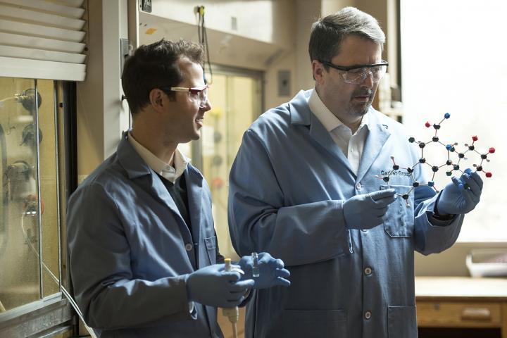 Assistant Professor Daniel Slad and Professor Paul Carlier, Virginia Tech